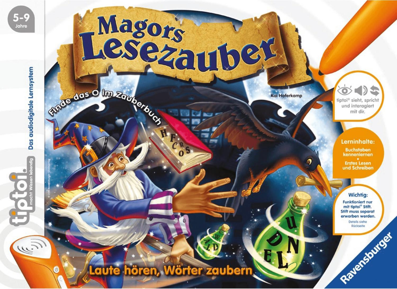 Ravensburger tiptoi - Magors Lesezauber (005116)
