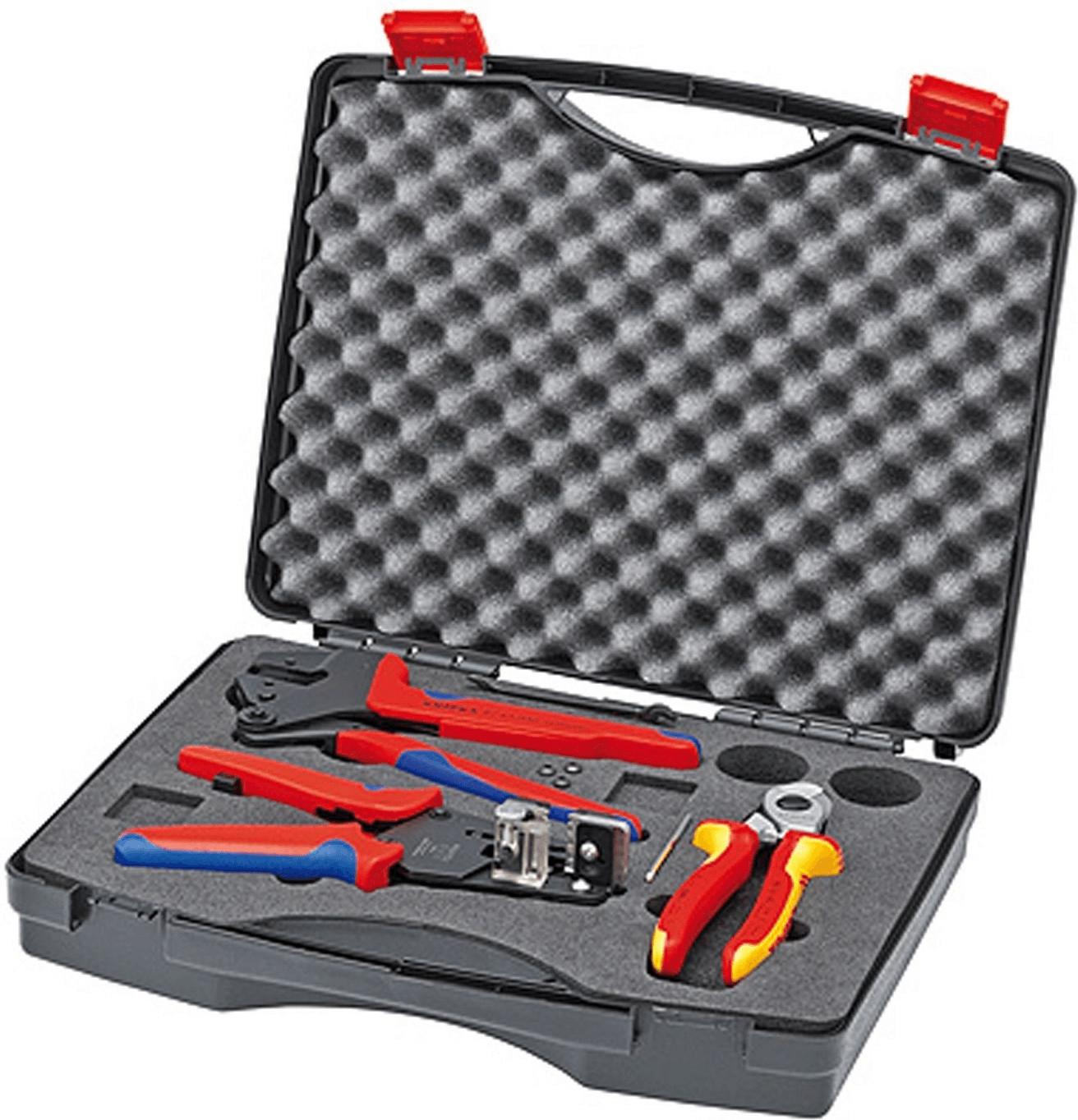 Knipex Werkzeugkoffer für Photovoltaik (97 91 01)