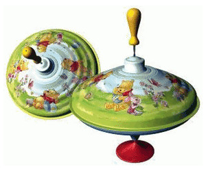 Image of Bolz Winnie The Pooh Humming Top