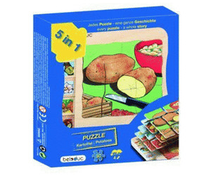 Image of beleduc Potato Layer Puzzle (30 pcs)