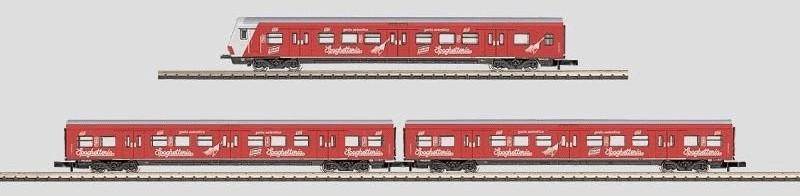 Märklin Set 3 S-Bahn-Wagen ´´Knorr Spaghetteria...
