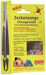 Pharma Brutscher Zeckenzange Chirurgenstahl
