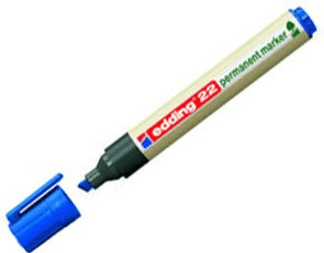 edding 22 EcoLine Permanentmarker Keilspitze 1 - 5mm Farbe wähbar