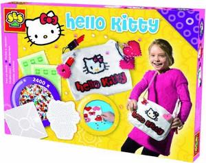 SES Creative Bügelperlenset Hello Kitty-Tasche