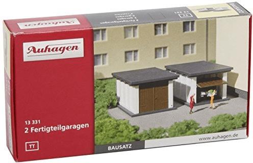 Auhagen 2 Fertigteilgaragen (13331)