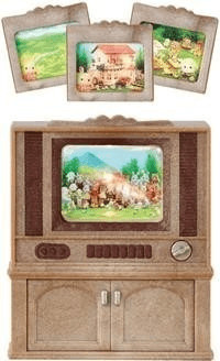 Sylvanian Families Televisor Color Luxury (2924)