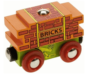 Image of Bigjigs Bricks Wagon