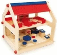 Legler Puppenhaus Lilli mit Zubehör