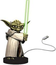 Joy Toy Yoda Plastikfigur mit Lichtschwert