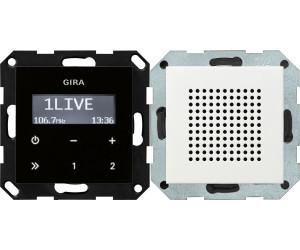 Gira Radio Weiß gira unterputz radio rds ab 111 46 preisvergleich bei idealo at