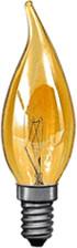 Paulmann Windstoßkerze 40W E14 110mm 35mm Gold