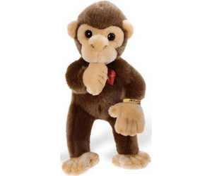 De l'usage de la peluche Heinrich-bauer-pia-pia-club-monkey-sucking-thumb-30-cm