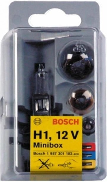 Bosch Autolampen-Box H1 mini