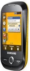 Samsung Corby S3650 Chrom-Gelb