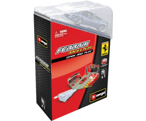 BBurago 1/43 Ferrari Race & Play Set Open and Play