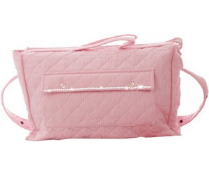 Babies Deluxe Rosabelle Bejeweled Diaper Bag