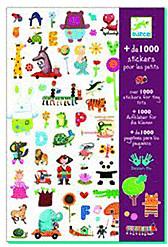 Djeco + 1000 Aufkleber für die Kleinen