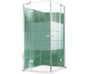 Duschabtrennung glas eckeinstieg  Duschkabine Glas 80X80 Eckeinstieg bei idealo.de