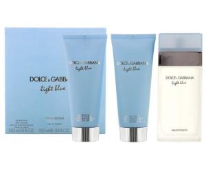 4b4747281b36d2 Dolce   Gabbana Light Blue Women Set (EdT 100ml + BL 100ml + SG 100ml)