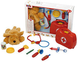 klein toys Tierarzt/ Tierärztin Set (4805)