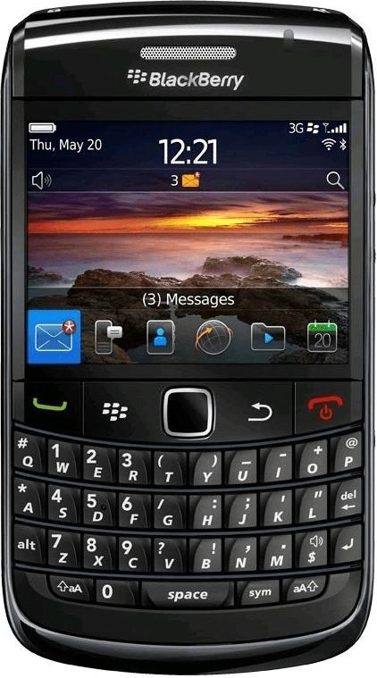 Image of BlackBerry Bold 9780 Black