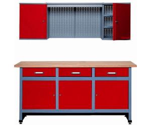 k pper spar set werkstattm bel 170 cm werkbank mit. Black Bedroom Furniture Sets. Home Design Ideas