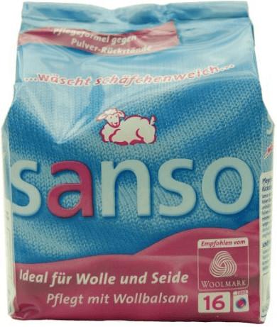 Sanso Wollwaschpulver (16 Wl + 900 g)