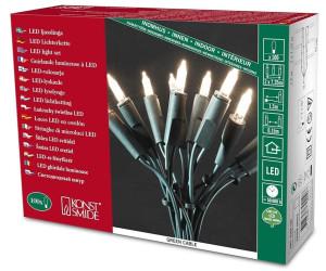 konstsmide led mini lichterkette 100er warmwei gr n 6304 100 ab 25 61 preisvergleich bei. Black Bedroom Furniture Sets. Home Design Ideas