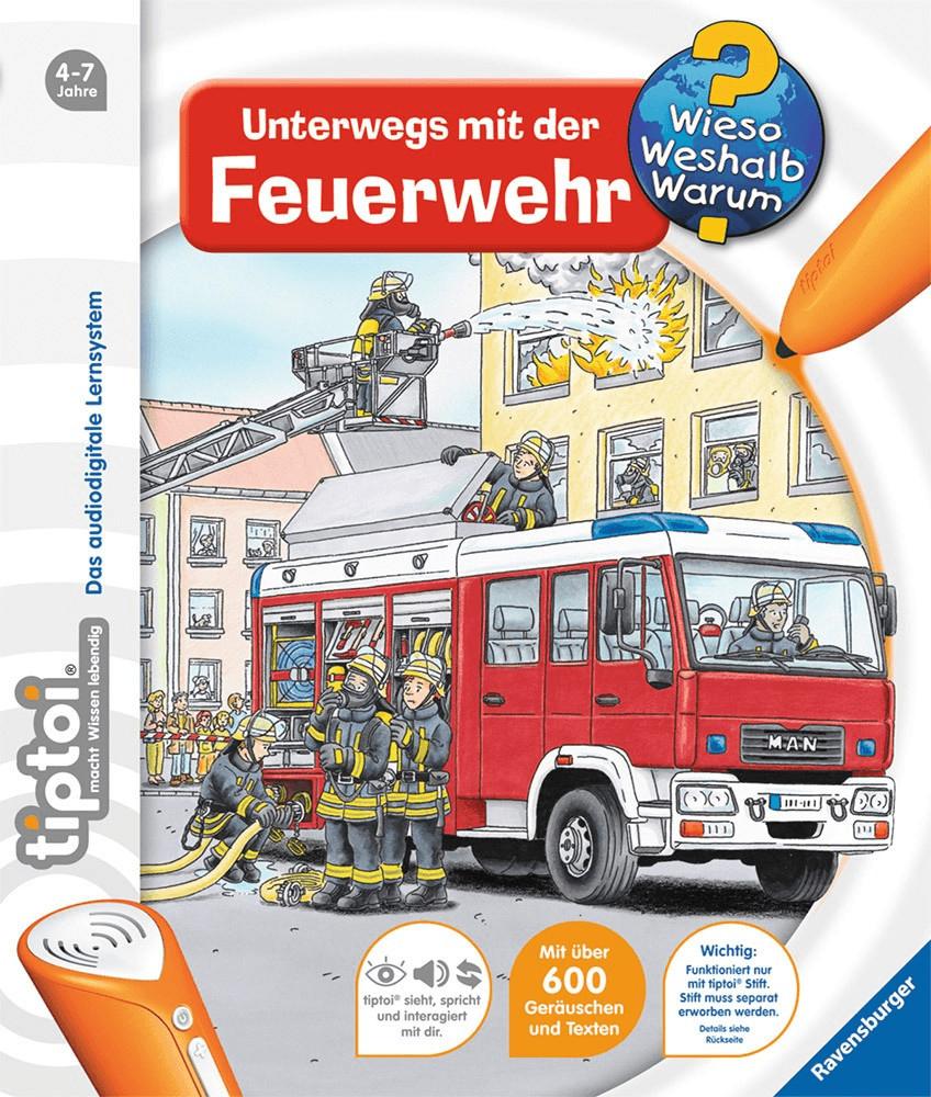 Ravensburger tiptoi - Unterwegs mit der Feuerwehr (00581)