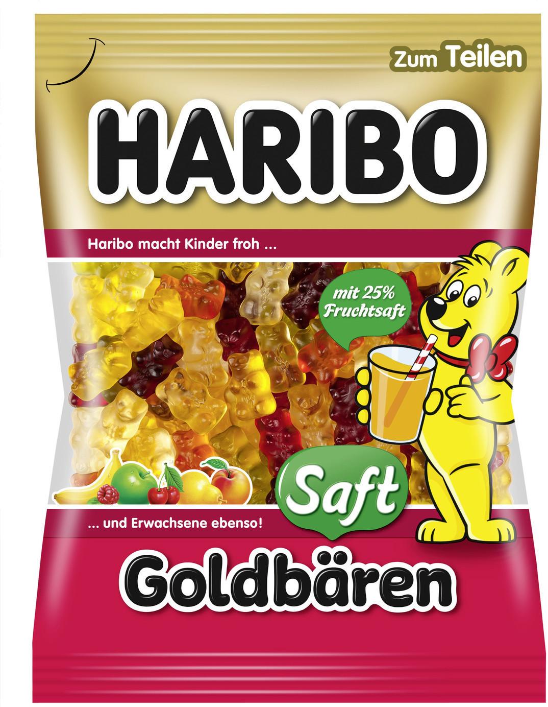 Haribo Saft-Goldbären (175 g)