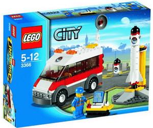 LEGO City L'aire de lancement (3366)