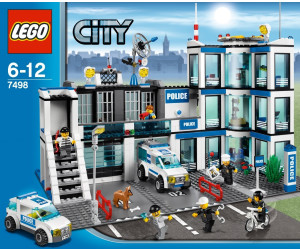 lego city le commissariat de police 7498 au meilleur prix sur. Black Bedroom Furniture Sets. Home Design Ideas