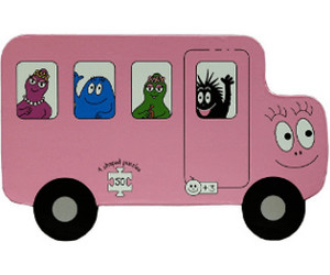 Barbo Toys Barbapap Transport (9 Puzzles, 6 Pieces)