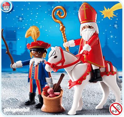 Playmobil Nikolaus und Black Pete (4893)