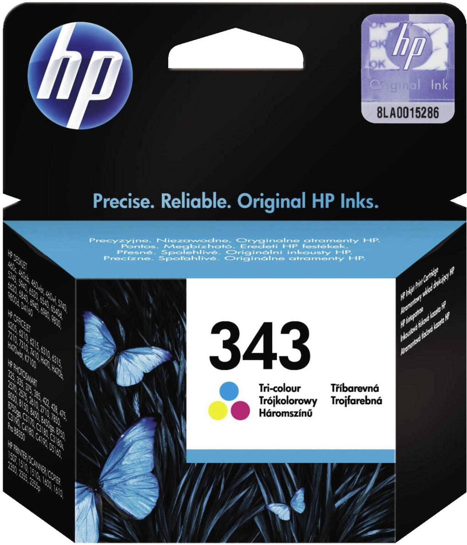 HP Nr. 343 3-farbig (C8766EE)