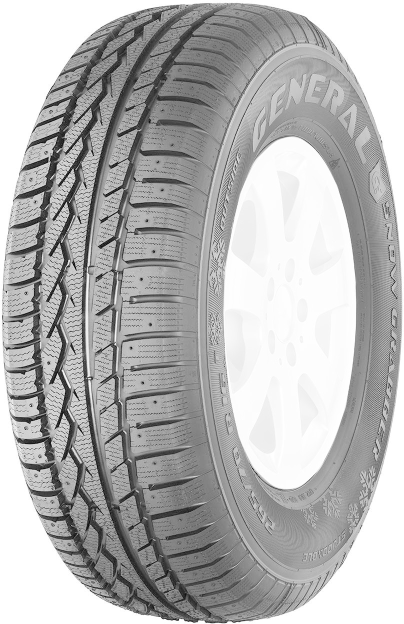 Image of General Tire Snow Grabber 245/70 R16 107T