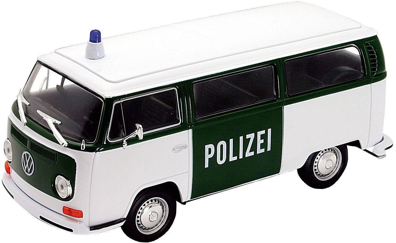 WELLY VW Bus T2 1972 Polizei (22472GP)