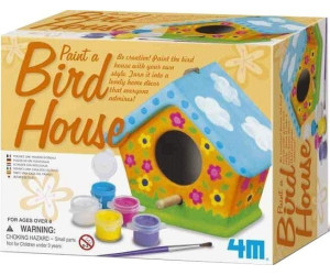 Image of 4M Bird House Painting Kit