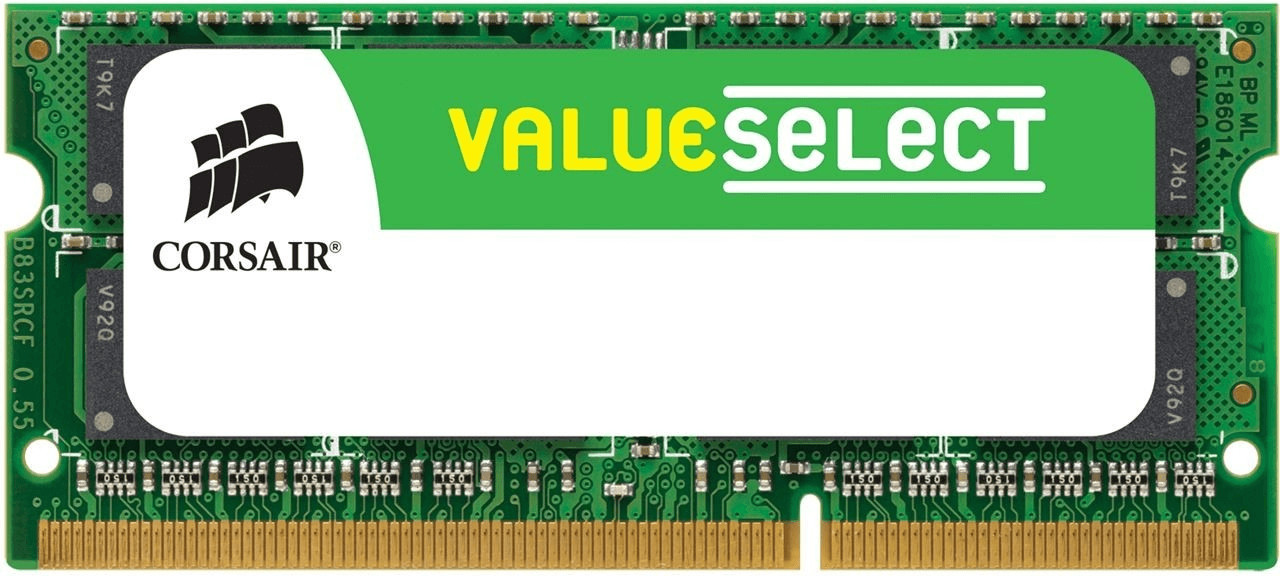 Corsair Value Select 2GB SO-DIMM DDR2 PC2-5300 (VS2GSDS667D2) CL5