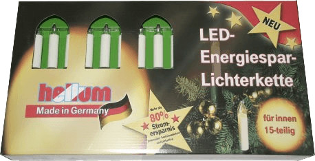 Hellum LED-Lichterkette (15 Kerzen)