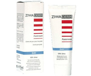 Ziwaderm Day 10% Urea Fußcreme (75 ml)