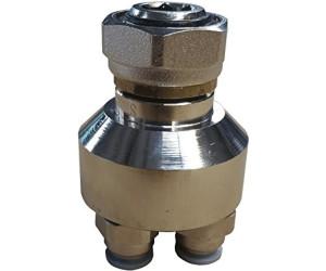 Warmwasser Fußbodenheizung Jollytherm Verteiler 2-fach für Vorlauf oder Rücklauf