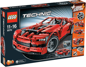 LEGO Technic Super Car (8070)