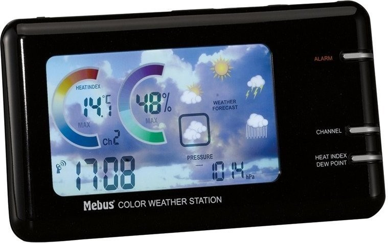 Mebus 10398 funkgesteuerte Wetterstation
