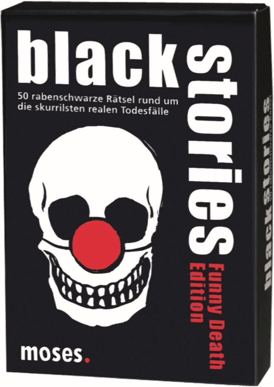 Moses Black Stories Funny Death Edition (alemán)