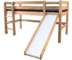 Etagenbett Liegefläche 80 180 : Etagenbett erwachsene weiß nische matratzen rollroste