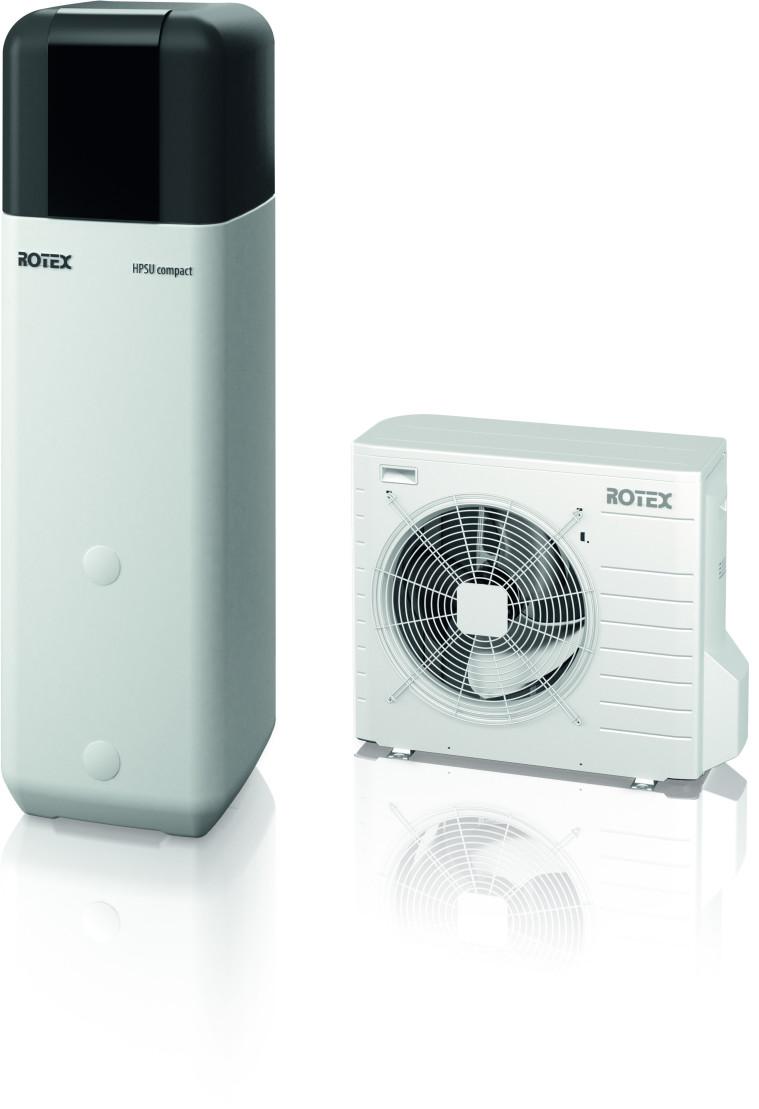 Rotex HPSU compact 516 H/C (16 kW)