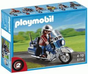 Playmobil Motorrad-Tourer (5114)
