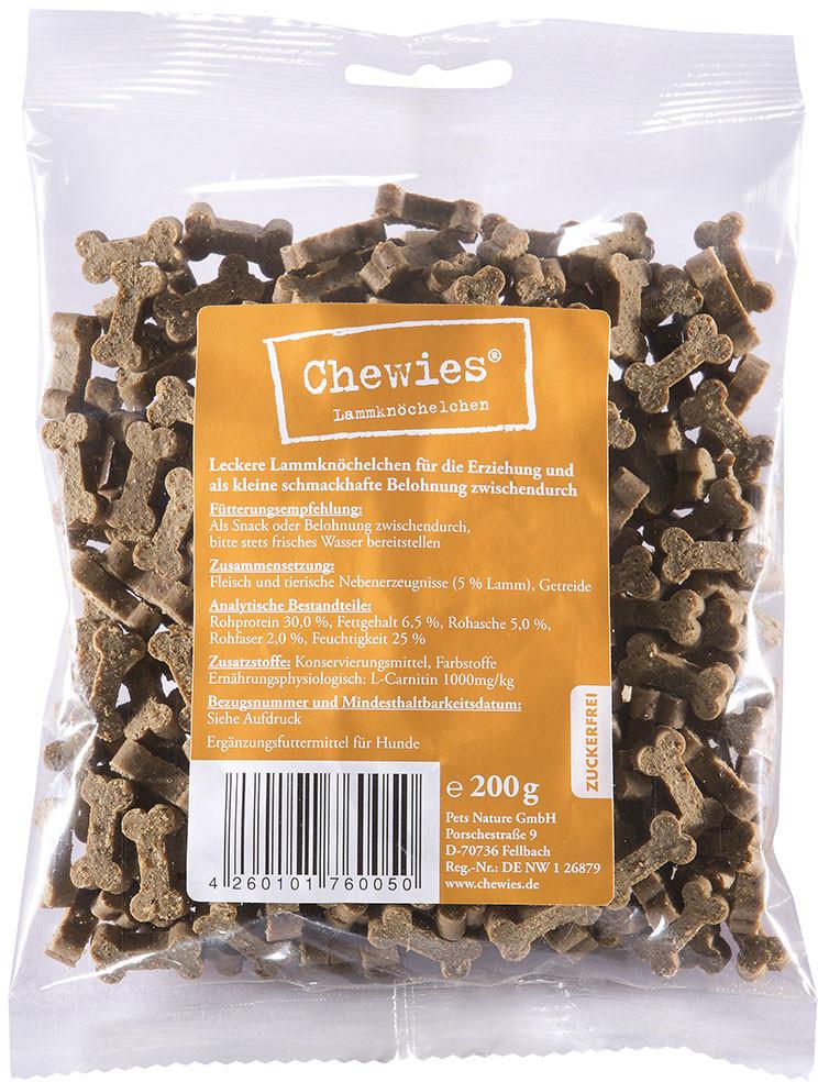 Chewies Leckerli Lamm (200 g)