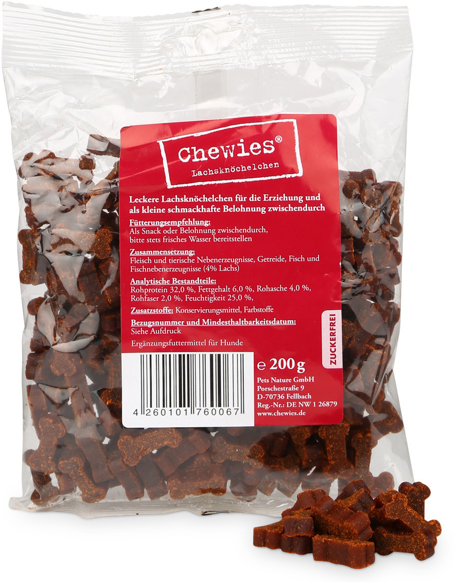 Chewies Leckerli Lachs (200 g)